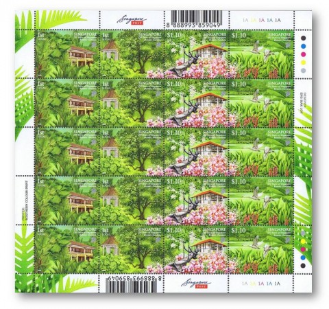 Botanic Gardens (2009) Stamp Sheet