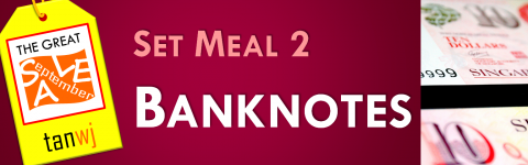 Set Meal 2: Banknotes