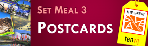Set Meal 3: Postcards