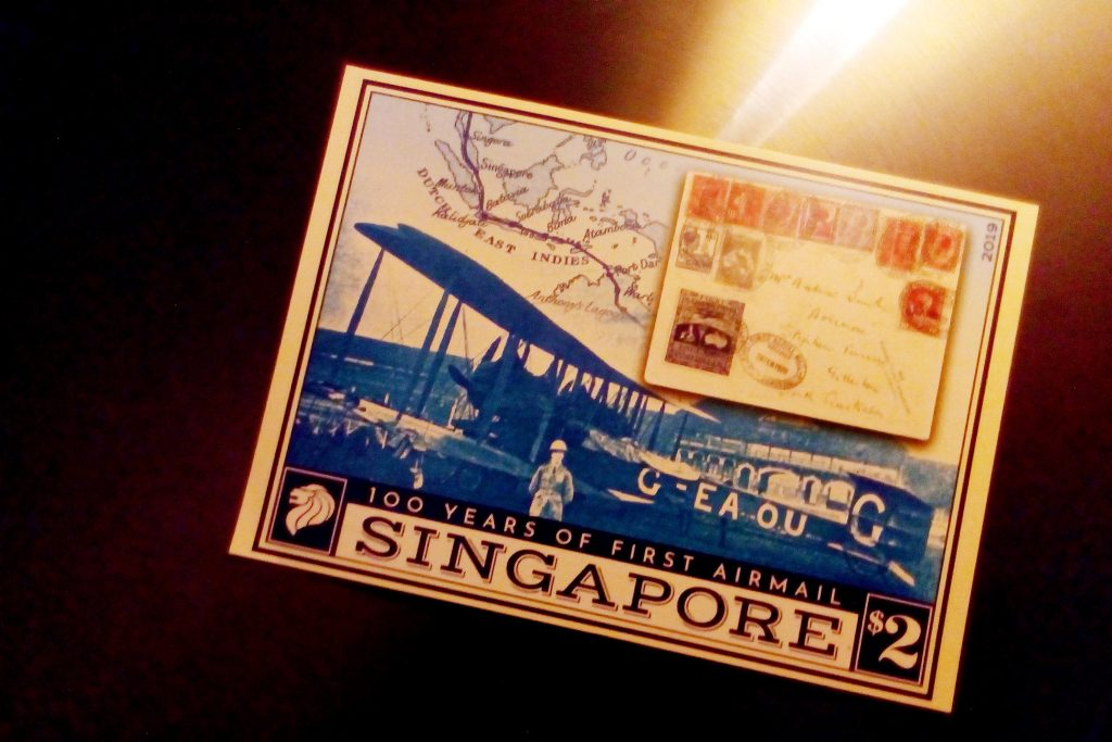 100 Years of Airmail in Singapore